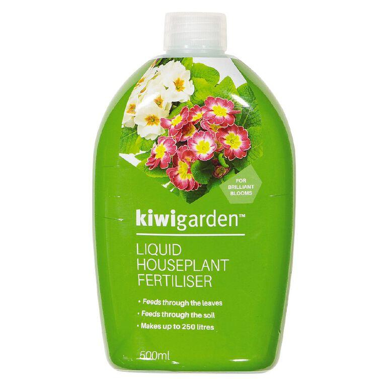 Kiwi Garden Liquid Houseplant Fertiliser 500ml, , hi-res