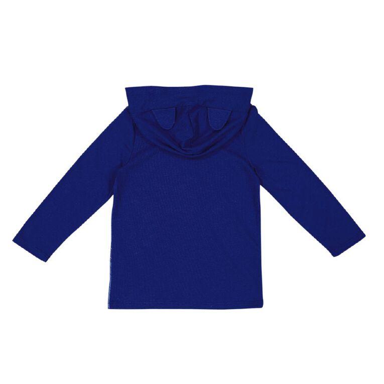 PJ Masks Long Sleeve Novelty Hoody Tee, Blue, hi-res