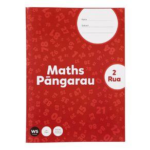 WS Senior Maths 2 Rua