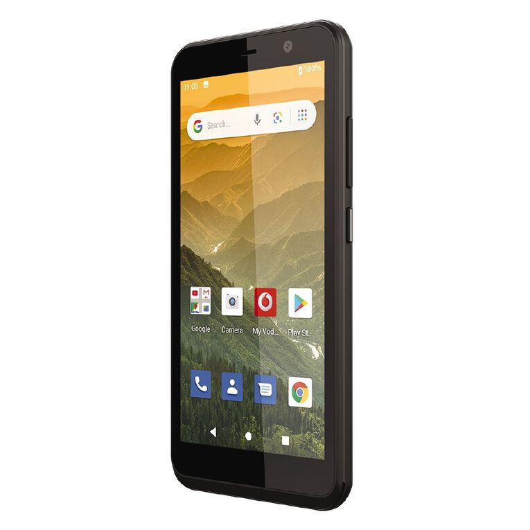 Vodafone Smart E11 Locked Bundle 16GB 4G Black, , hi-res