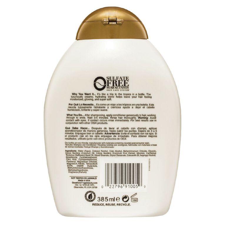 Organix Nourishing Coconut Milk Shampoo 385ml, , hi-res