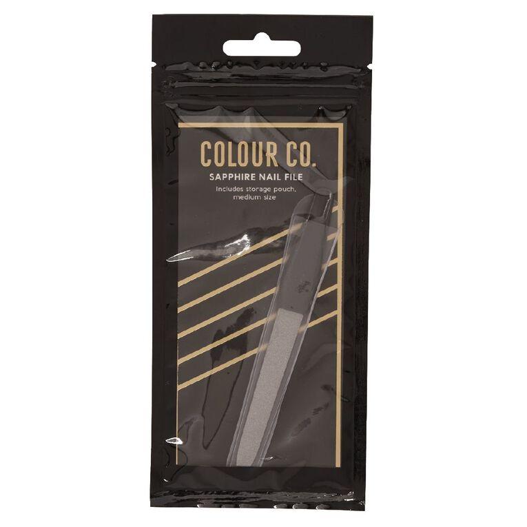 Colour Co. Sapphire Nail File, , hi-res