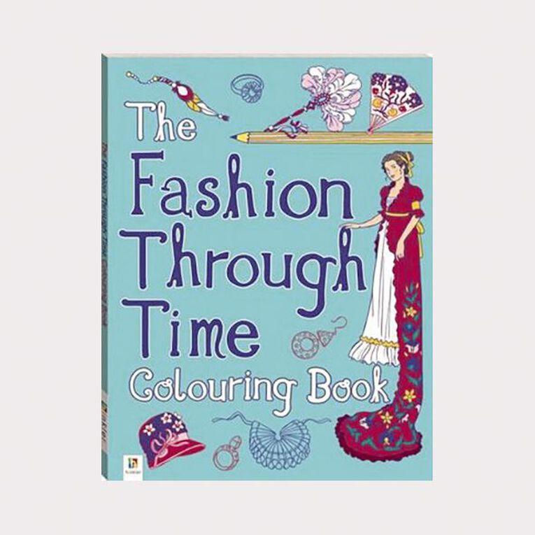 Fashion Through Time Colouring Book by Michael O'Mara, , hi-res