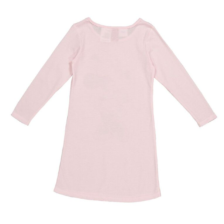 Mickey Mouse Disney Girls' Knit Nighty, Pink Mid, hi-res
