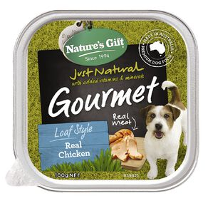 Nature's Gift Gourmet Loaf Real Chicken 100g
