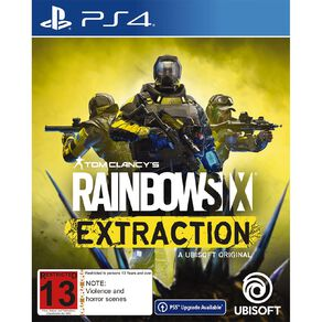 PS4 Rainbow Six Extraction