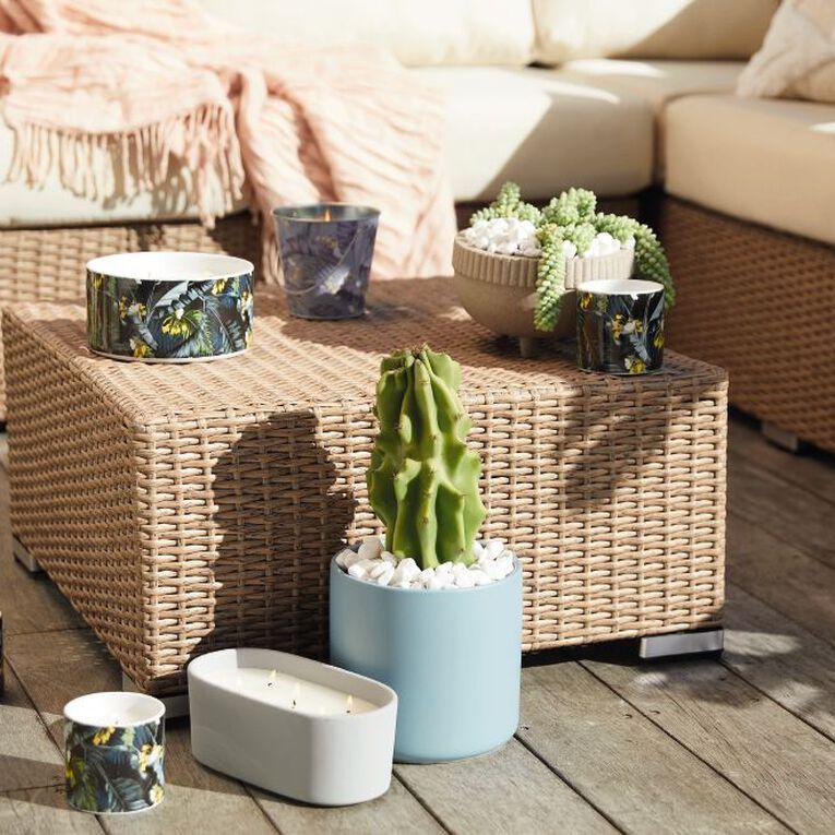 Living & Co Citronella Bucket Candle Kiko Bay Green 13cm x 12cm, , hi-res