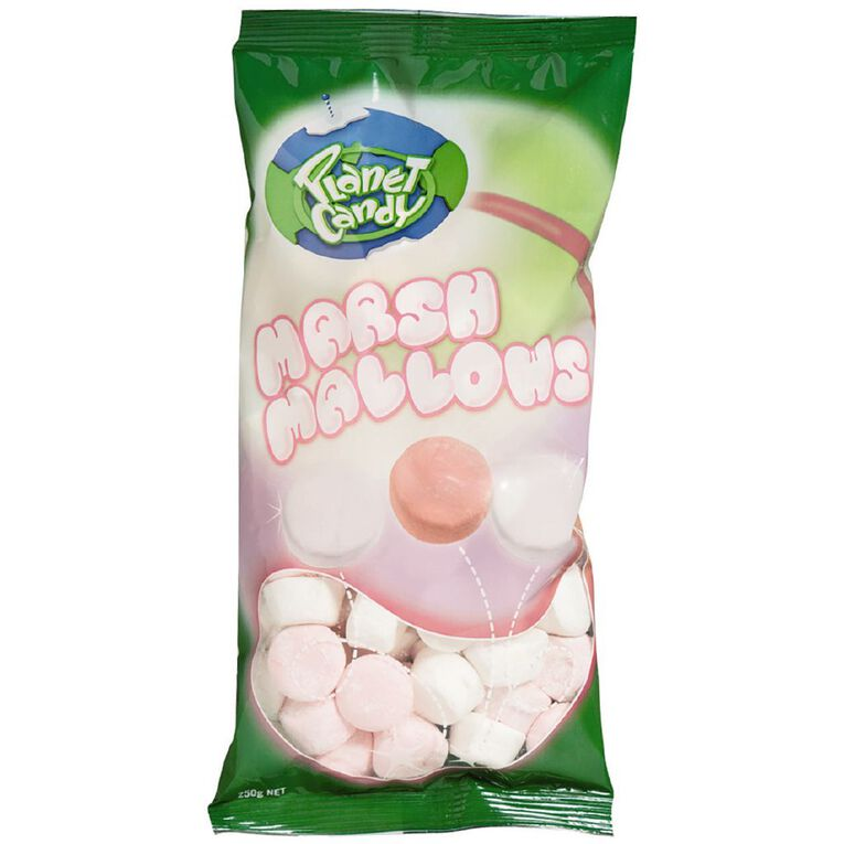 Planet Candy Marshmallows 250g, , hi-res