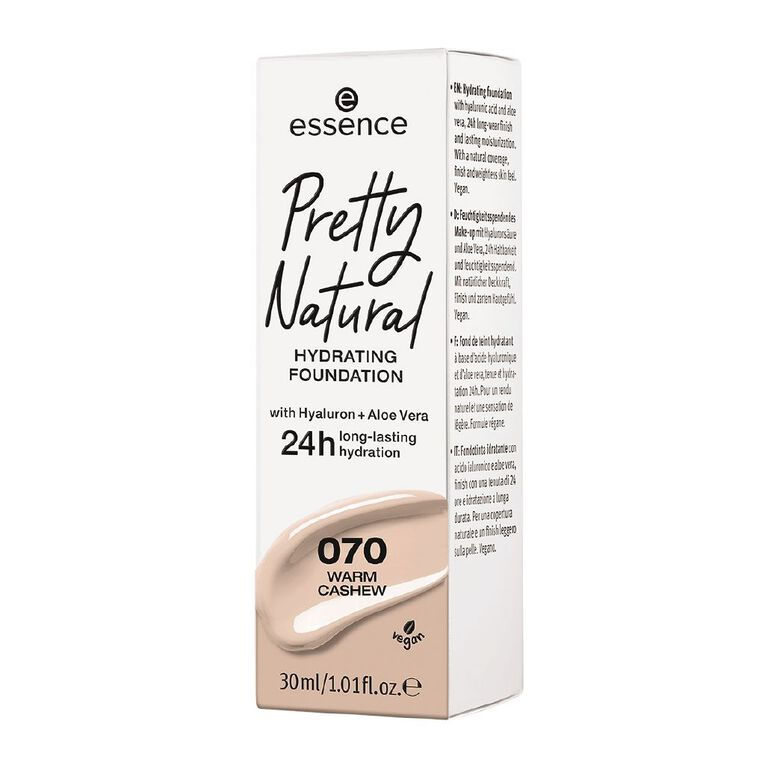Essence Pretty Natural hydrating foundation 070, , hi-res
