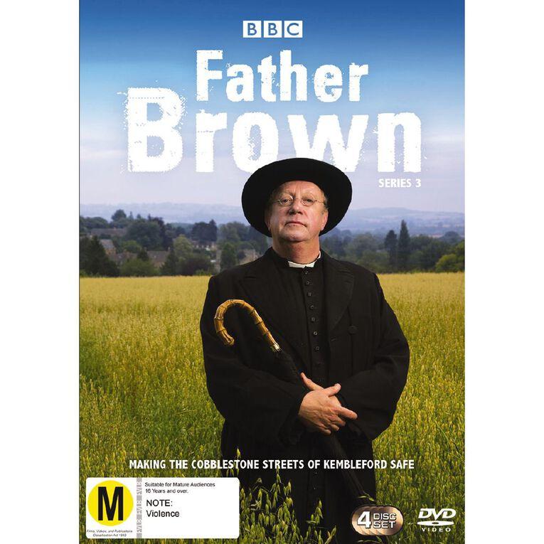 Father Brown Season 3 DVD 4Disc, , hi-res
