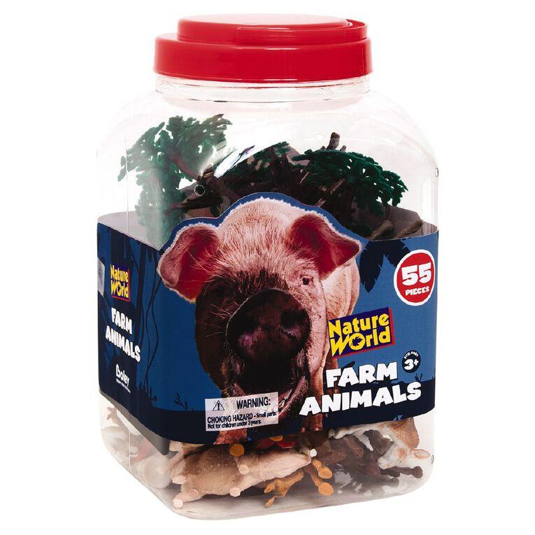 Farm Animals & Accessories 55 Pieces, , hi-res