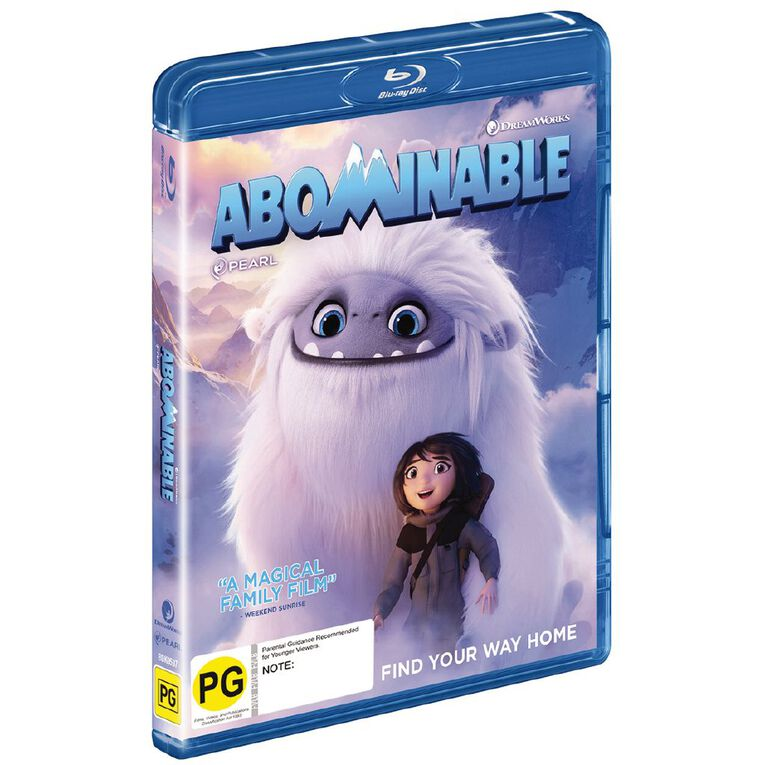 Abominable Blu-ray 1Disc, , hi-res