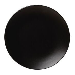 Living & Co Coast Matte Side Plate Black 20cm