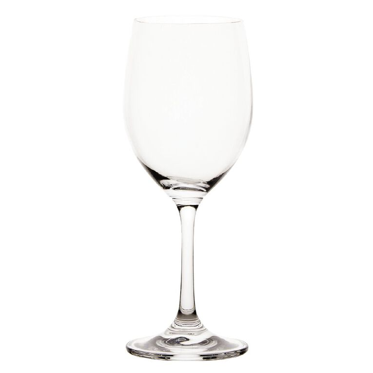 Living & Co Traditional White Wine Glass 6 Pack 350ml, , hi-res