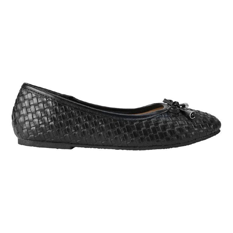 Young Original Petra Bow Shoes, Black, hi-res