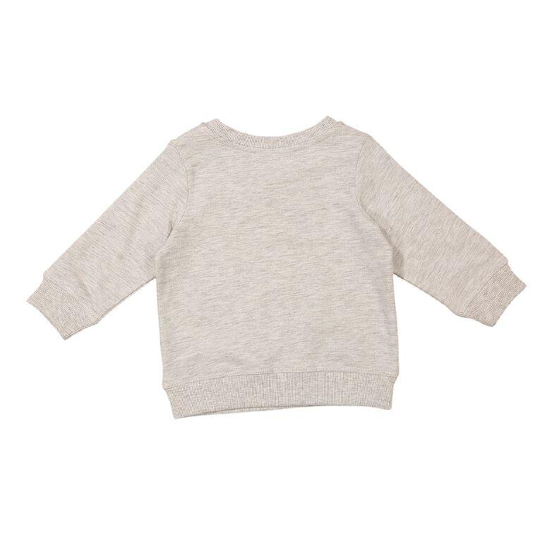Young Original Baby Printed Sweatshirt, Grey Light, hi-res