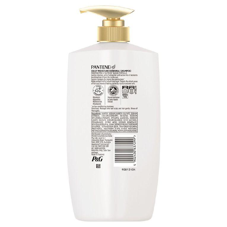 Pantene Shampoo Daily Moisture Renewal 900ml, , hi-res