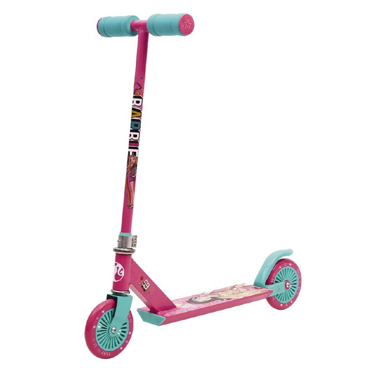 Barbie Fixed Inline Scooter, , hi-res