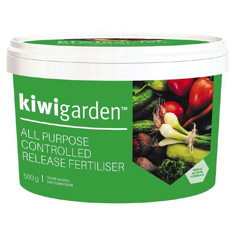 Kiwi Garden All Purpose Fertiliser 500g, , hi-res