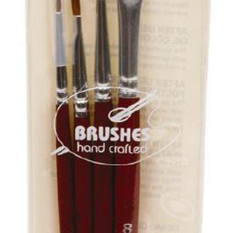 DAS Brush Set White Bristle 4 Pack, , hi-res