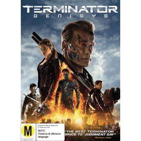 Terminator Genisys DVD 1Disc