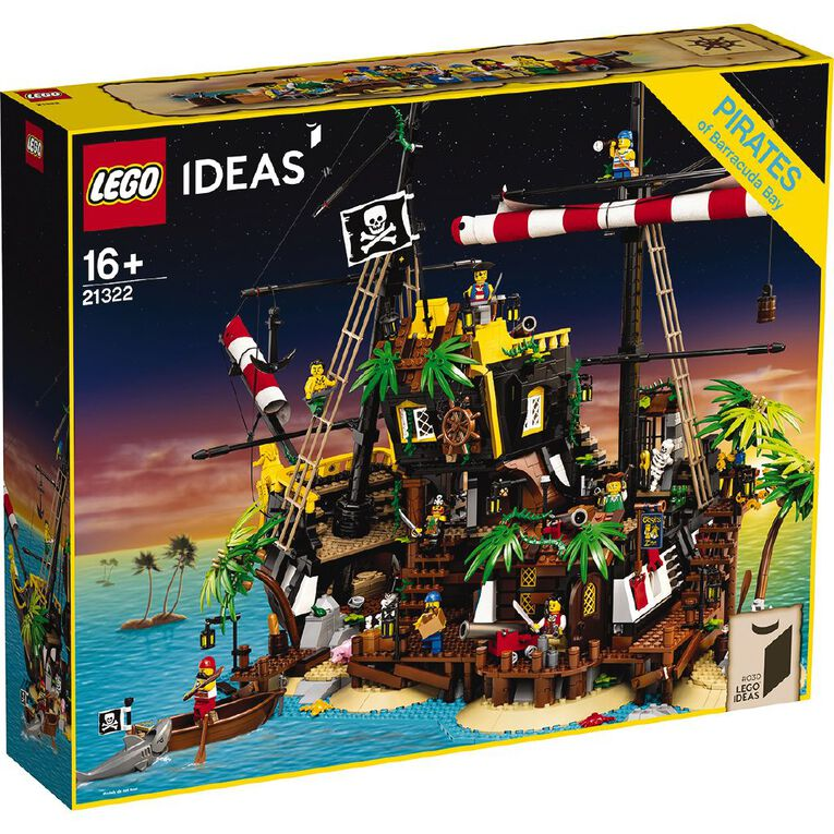 LEGO Ideas Pirates of Barracuda Bay 21322, , hi-res