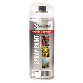 Autohaus Spray Paint Gloss White 400ml