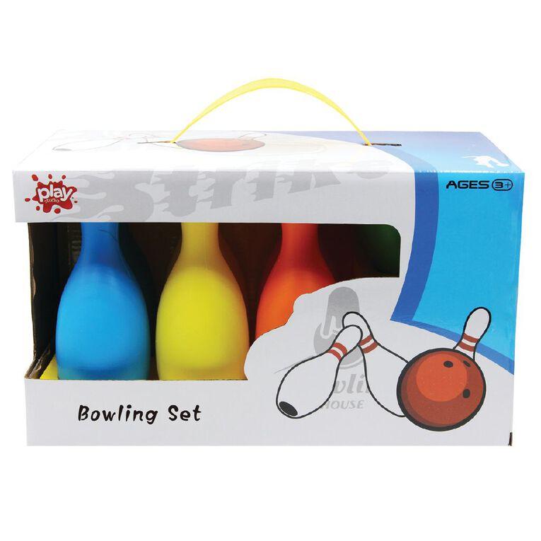 Play Studio Bowling Pin Set 6 Pieces, , hi-res