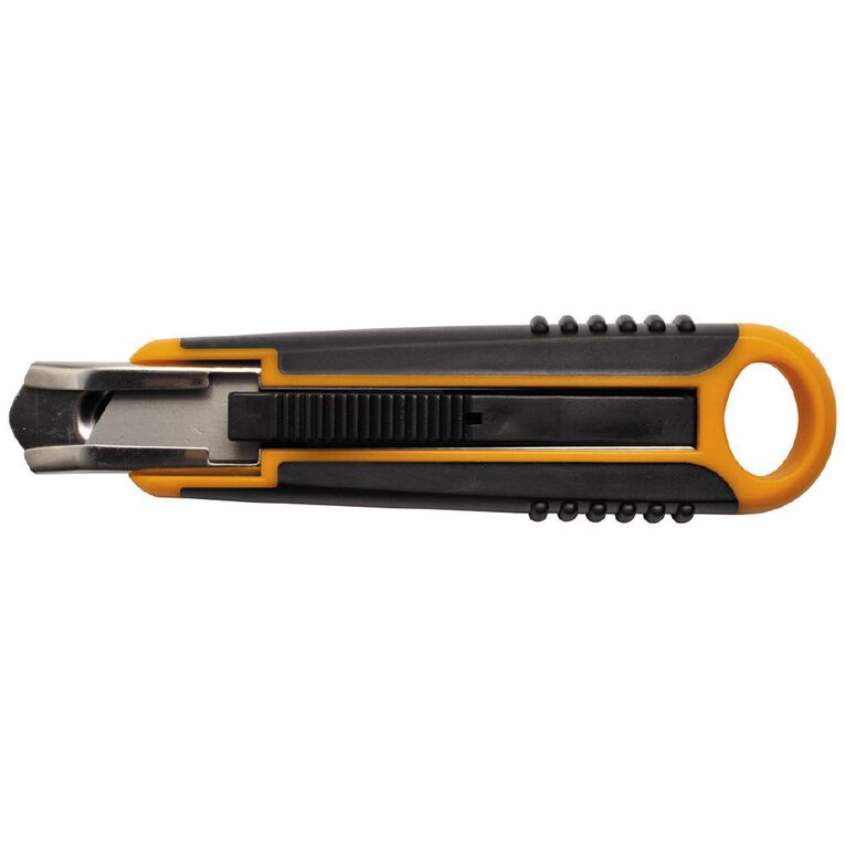 Fiskars Safety Cutter 18mm Black, , hi-res