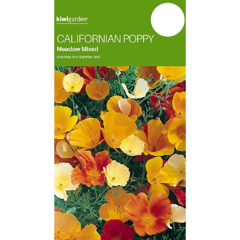 Kiwi Garden California Poppy, , hi-res