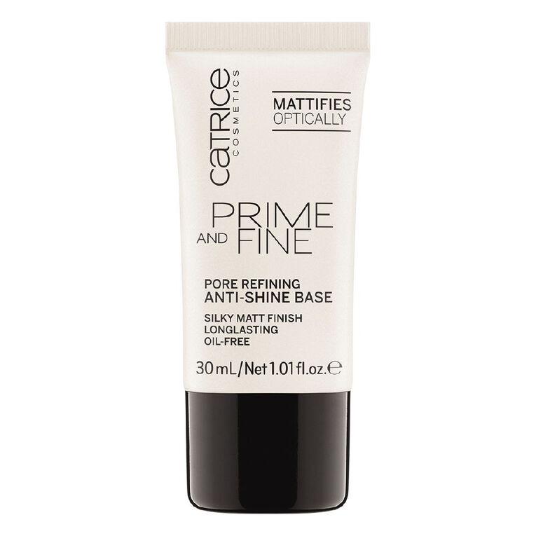 Catrice Prime And Fine Pore Refining Anti-Shine Base, , hi-res