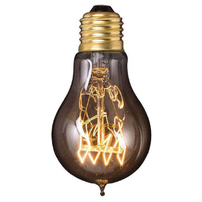 Living & Co Vintage E27 Light Bulb A60 40w, , hi-res