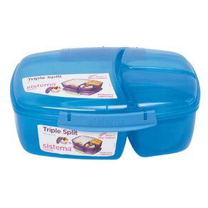 Sistema Triple Split Lunchbox Tint Assorted