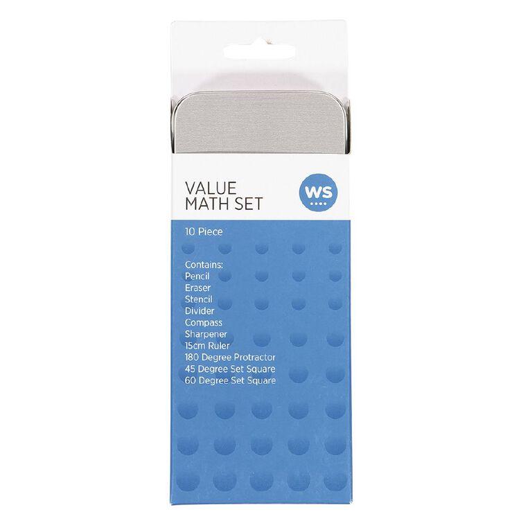 WS Math Set Value 10 Piece Mixed Assortment, , hi-res