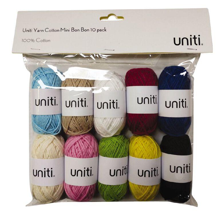 Uniti Yarn Cotton Mini Bon Bon 10 pack, , hi-res