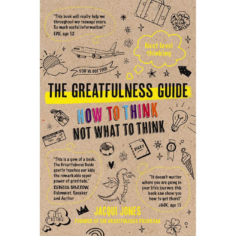 The Greatfulness Guide by Jacqui Jones, , hi-res