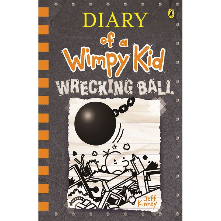 Diary of a Wimpy Kid #14 Wrecking Ball by Jeff Kinney, , hi-res