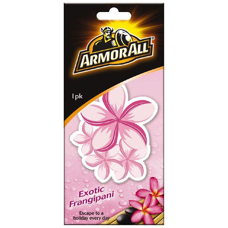 Armor All Hanging Car Air Freshener Exotic Frangipani, , hi-res