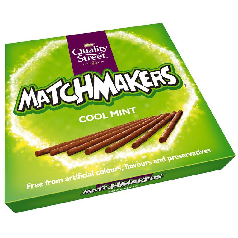 Nestle Quality Street Matchmakers Cool Mint 120g, , hi-res