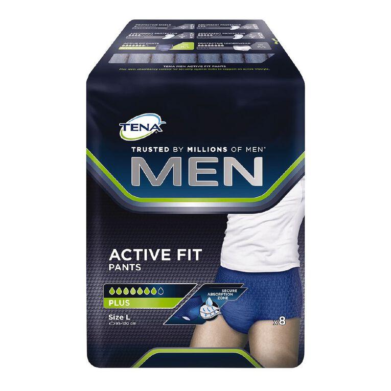 Tena Pants Men Active Fit Plus Large 8 Pack, , hi-res