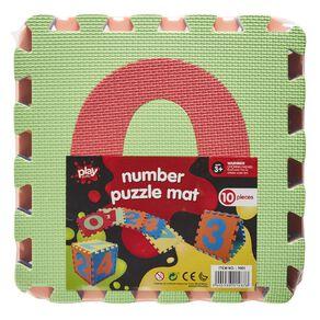 Play Studio Number Puzzle EVA Mat 10 Pieces