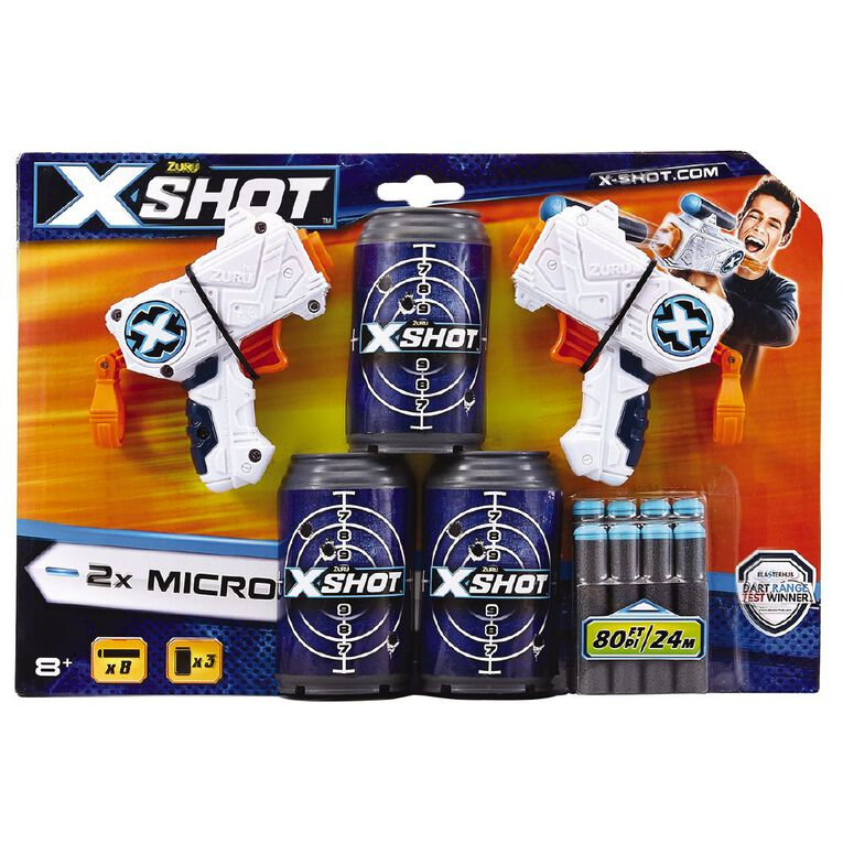 Zuru X-Shot Excel Double Micro Dart Blaster, , hi-res