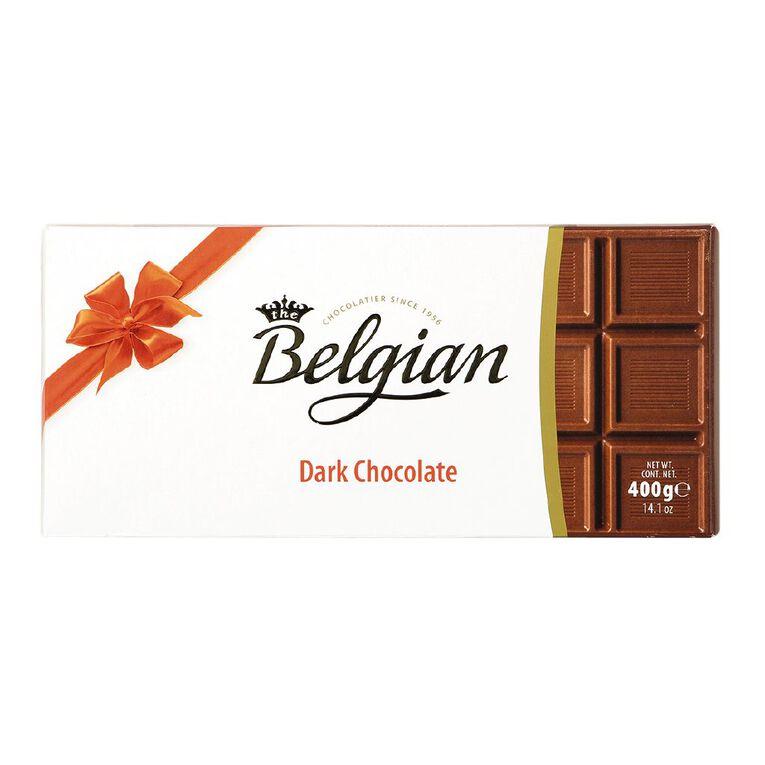 Belgian Milk Chocolate Block 400g, , hi-res