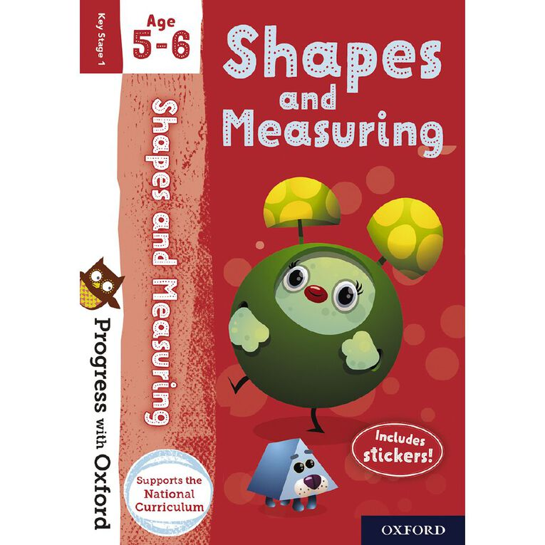 Shapes and Measuring Age 5-6 by Oxford University Press, , hi-res