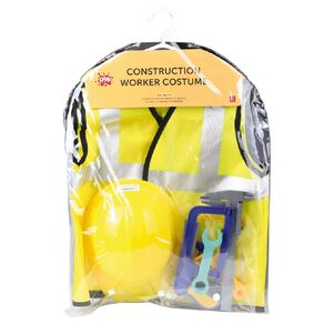 Play Studio Construction Worker Costume Ages 3-5