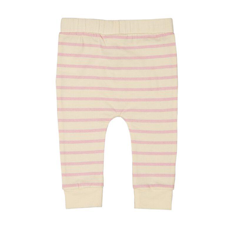Young Original Baby Printed Leggings, Cream, hi-res