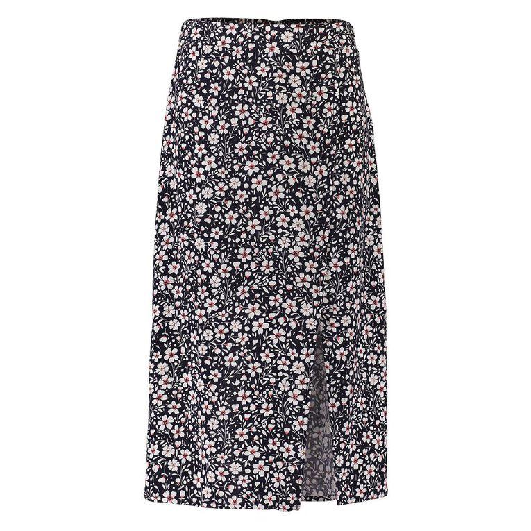 Young Original Midi Skirt, Blue Dark, hi-res