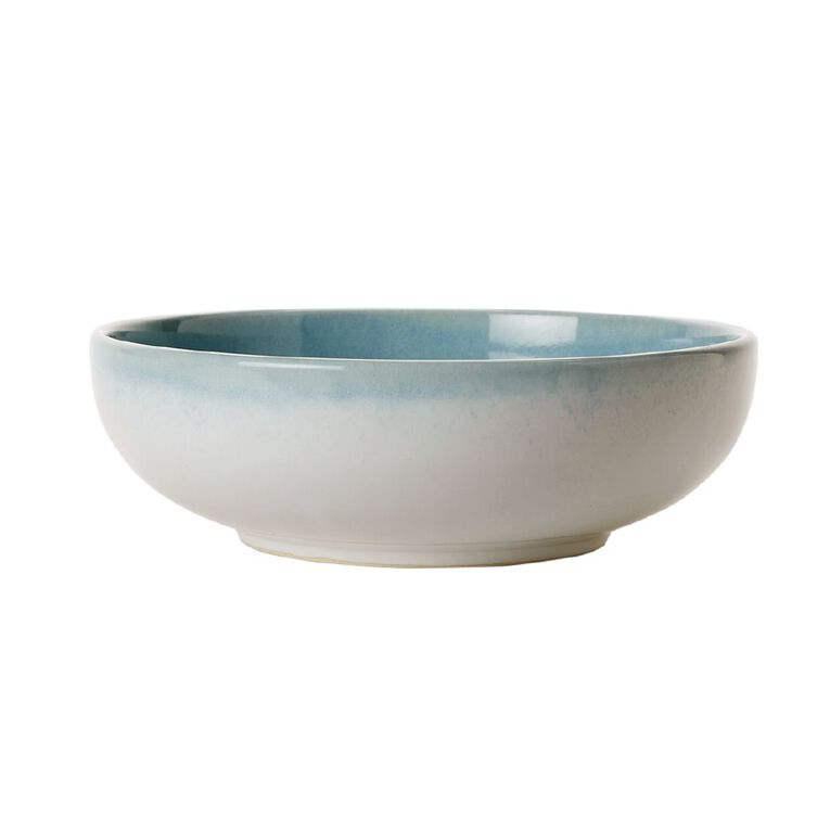 Living & Co Kina Ocean Serve Bowl Turquoise, , hi-res