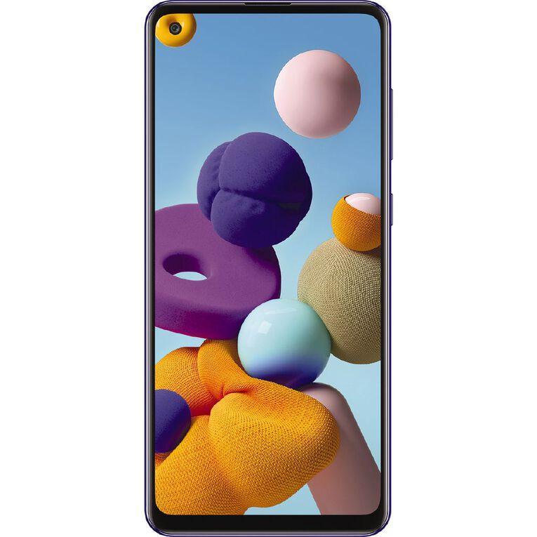 2degrees Samsung Galaxy A21s 128GB - Blue, , hi-res