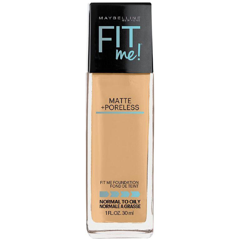 Maybelline Fit Me Matte & Poreless Liquid Foundation Natural Buff 230, , hi-res
